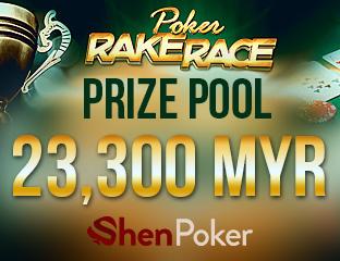 ShenPoker központi rake race