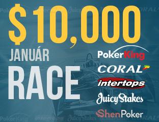 $10, 000 Pókerakadémiás Race Januárban