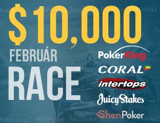 $10,000 Pókerakadémia Race
