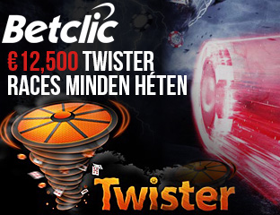 €12.500-as Twister Race-ek minden héten