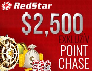 $2,500 Exkluzív Pókerakadémia Point Chase
