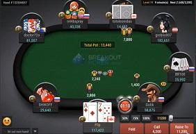 Breakout Poker Asztal