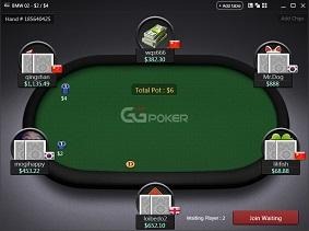 GGPoker asztal