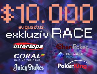 $10K Pókerakadémia Race