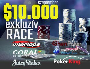$10.000 PókerAkadémia Race