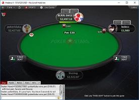 PokerStars Poker asztal