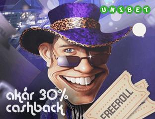 Akár 30% rendszeres Cashback