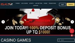 PCF Poker website