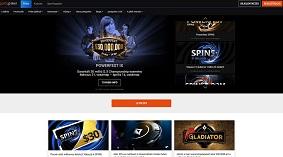 PartyPoker weboldal