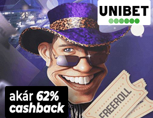 Akár 62% rendszeres Cashback