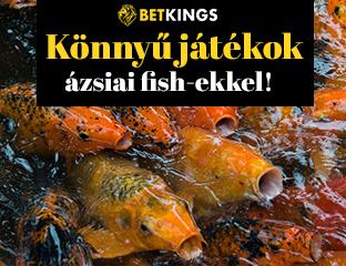 Remek mezőny ázsiai halakkal a BetKingsen