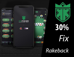 30% Exkluzív Rakeback - élvezd a PókerAkadémia klub tagság előnyeit