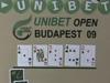 Unibet Open Budapest 2009 Day 1A - Élő videóközvetítés 17:00 - 18:00