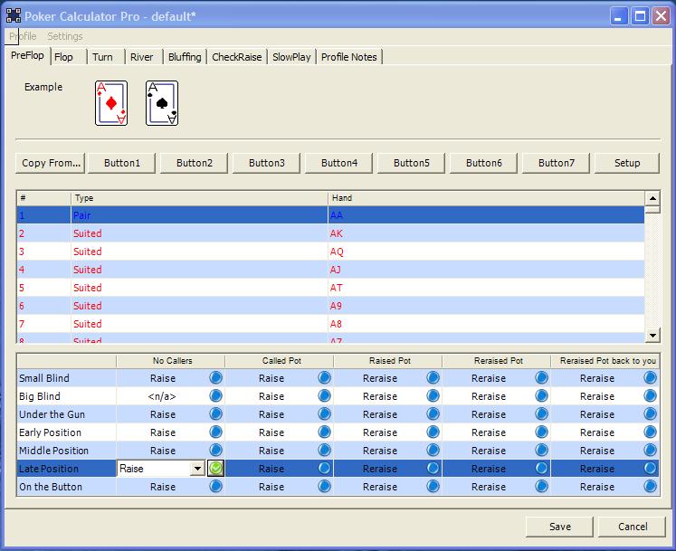 Omaha poker probability calculator