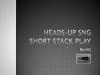 Short játék sajátosságok, winrate, ROI, variancia, asztalválasztás, tilt, a videó második felében pedig tipikus short leosztások FTP HUST $50-ról.