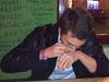 Danfiu, Zsipali, rockett és fejes1988 Prágában pókereztek és tequiláztak :-) Só orrba, citrom szembe, alkohol a szájba.