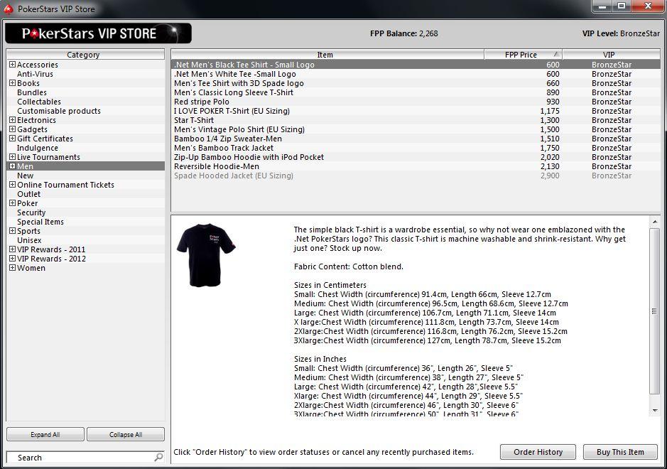 Pokerstars Vip Store