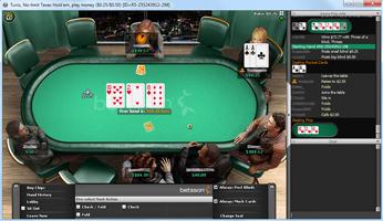 Betsson Cash Game asztal