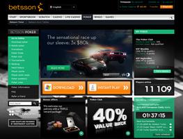 Betsson weboldal
