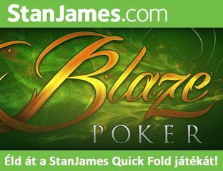 Blaze Poker - pókerezz villámsebességgel