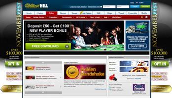 William Hill weboldal