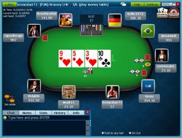 William Hill cash asztal