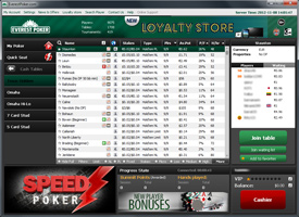 Everest Poker cash lobby