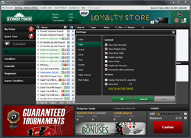 Everest Poker torna lobby