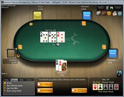 Betsson Microgaming cash asztal