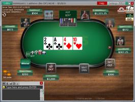 Bet365 cash asztal