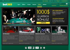 Bet365 weboldal