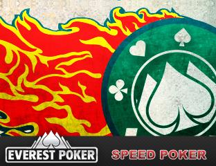 Lassú a hagyományos online póker? Válts Speed Pokerre!