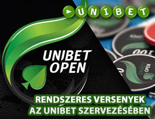 Juss ki az Unibet Open élő versenyeire