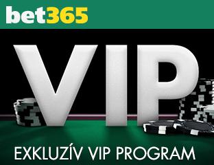 VIP Program a Bet365-nél a még jobb visszatérítésekért