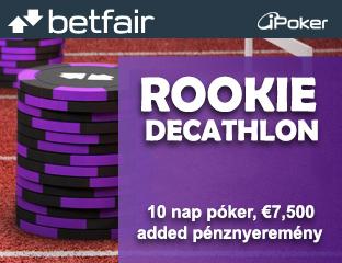 Rookie Decathlon - Játssz 10 napot a hónapban hogy garantáltan nyerj!