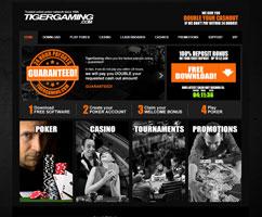TigerGaming weboldal
