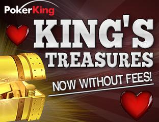 King\'s Treasures - Központi cash és tournament race-ek