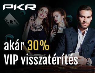 Szerezz akár 30% visszatérítést a PKR loyalty rendszerében!