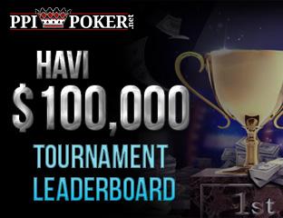 $100.000 tournament leaderboard minden hónapban
