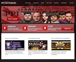 PPI Poker weboldal