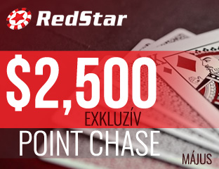 RedStar Poker - exkluzív point chase - 2018. május 1-31.