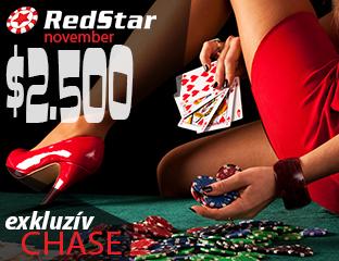 RedStar Poker - exkluzív point chase - 2018. november 1-30.