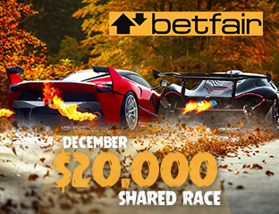 Betfair - $10,000 - pooled cash race - 2018. december 16-31.