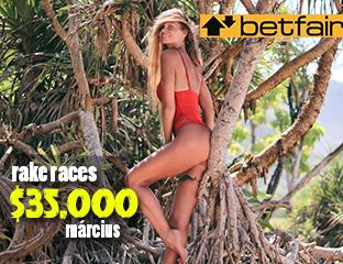 Betfair - €19,950 - pooled cash race - 2019. március 1-31.
