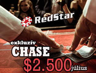 RedStar Poker - exkluzív point chase - 2019. július 1-31.