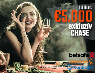 Betsson Poker - Microgaming - exkluzív point chase - 2019. július 1-31.