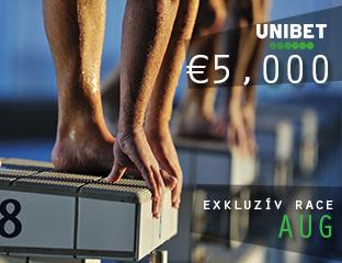 Unibet - €5,000 - exkluzív cash race - 2019. augusztus 1-31.