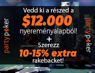 partypoker - $12,000 - exkluzív cash race - 2020. január 1-31.