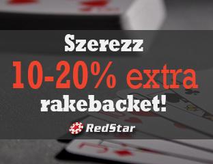 RedStar Poker - exkluzív point chase - 2020. január 1-31.