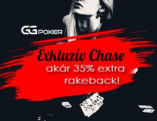 GGPoker - exkluzív rake chase - 2020. augusztus 1-31.